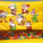10x10 Ball Pool Snow White