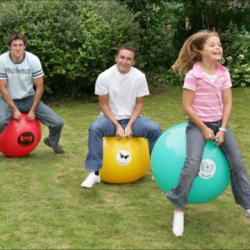 Giant space hoppers £5 each per day