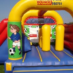 15x17 Castle/Slide Combo Just £85 per day.