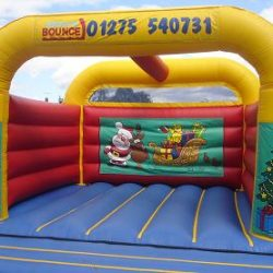 16ft x 18ft our smallest sized adult castle available