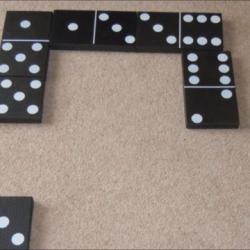 Giant dominoes £10 per day