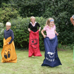 Sack races £10 per hire