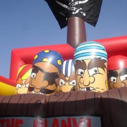 Pirate Ship Biff & Flag Sun