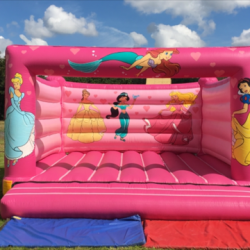 All pink princess castle £100 per day