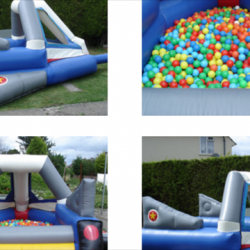 Large Space ship ball pond £80 per day